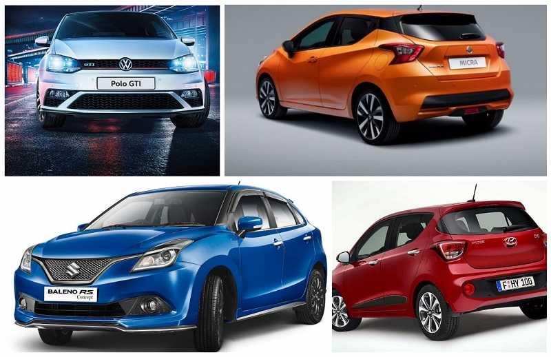 upcoming hatchback cars