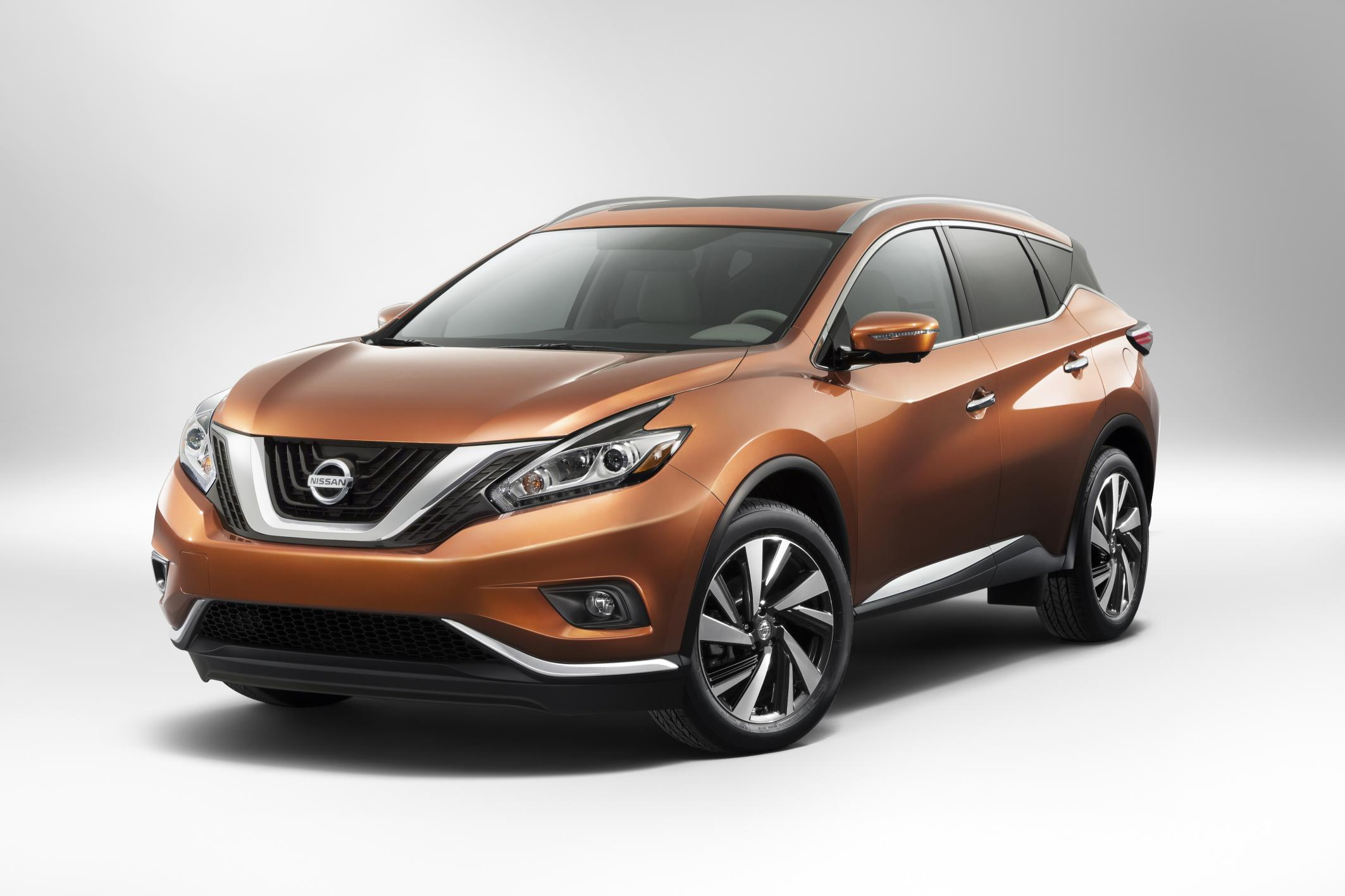 New 2015 Nissan Murano SUV unveiled
