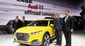 Audi TT off-road concept