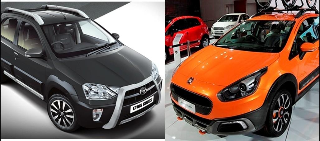 Fiat Avventura Vs Toyota Etios Cross