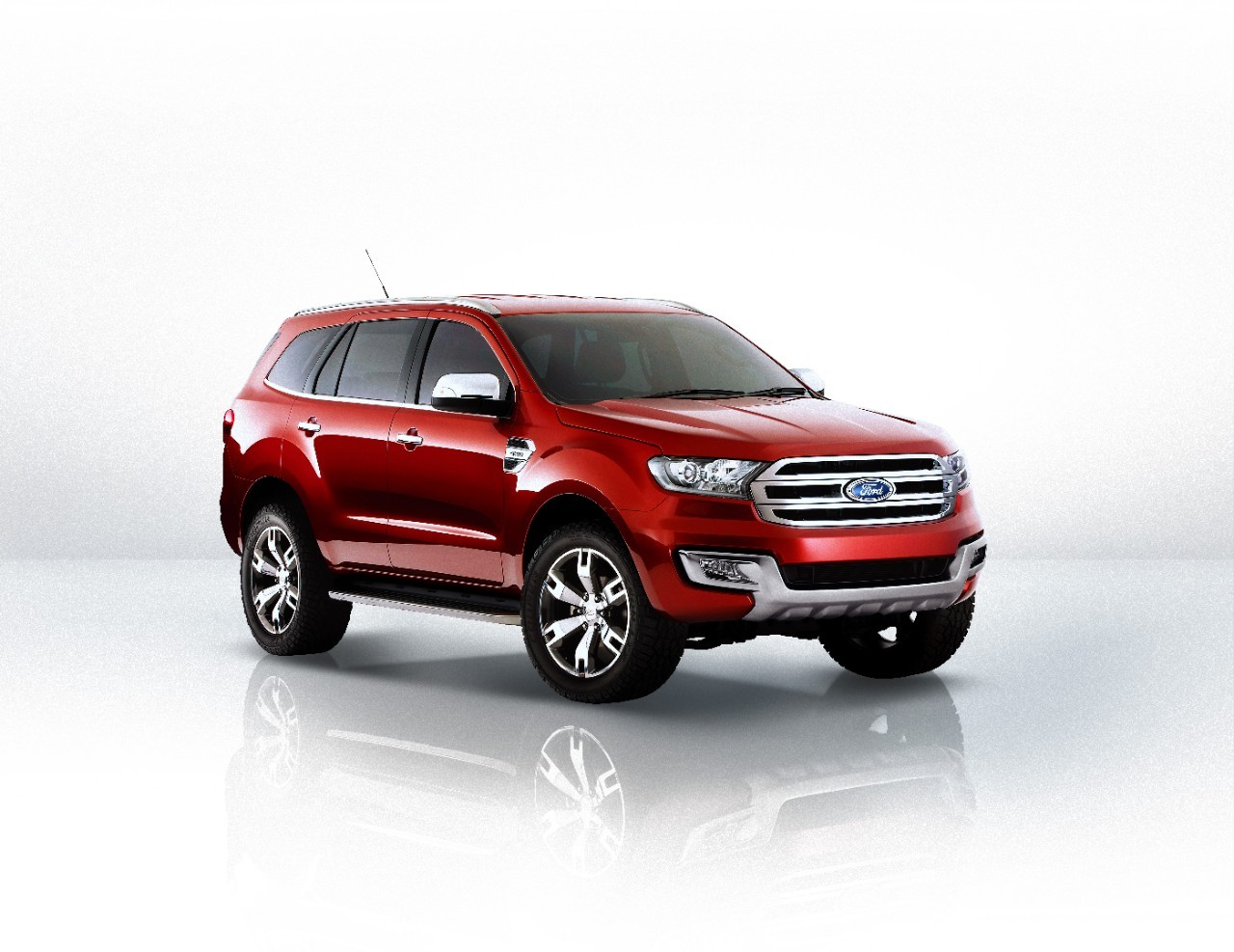 New Ford Everest aka Endeavour unveiled- Beijing Auto Show
