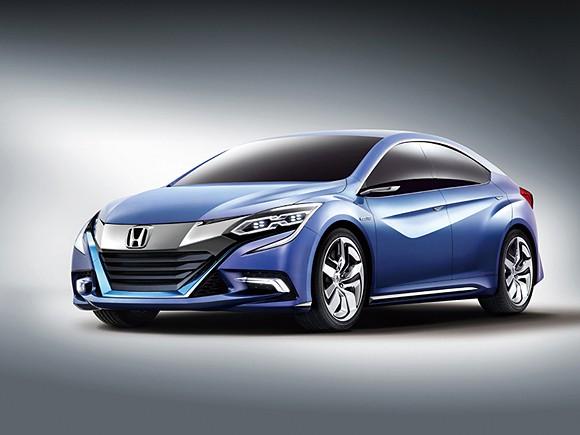 Honda Concept B Sedan