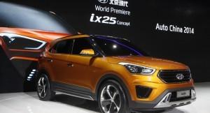 Hyundai ix25 compact SUV unveiled