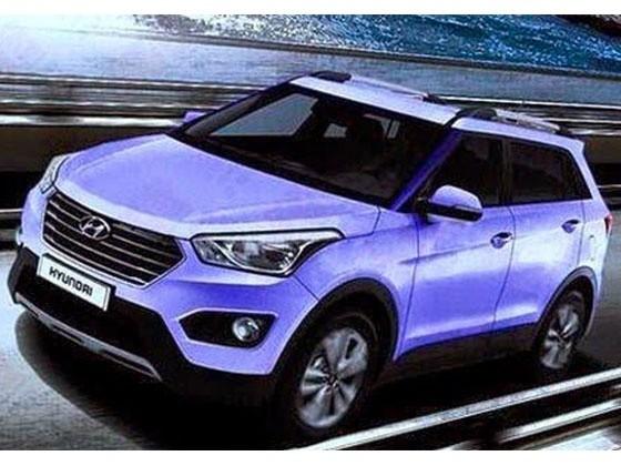 Hyundai ix25 image leaked