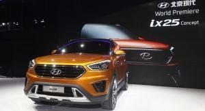 Hyundai ix25 compact SUV