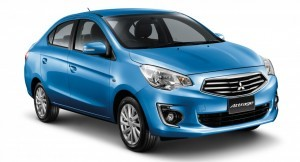 Mitsubishi Attrage sedan to come India