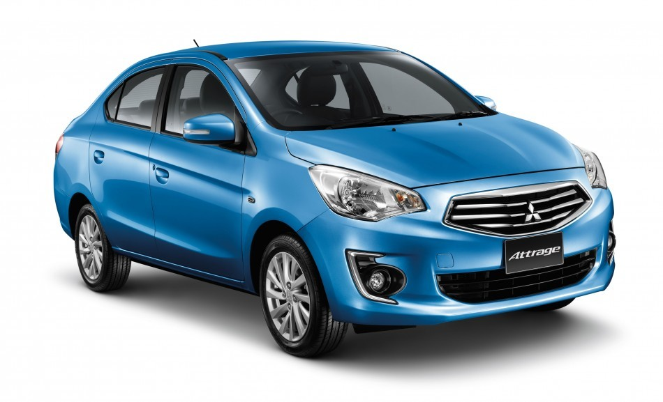 Mitsubishi Attrage sedan to come India