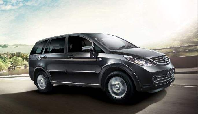New 2014 Tata Aria facelift