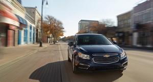 New 2015 Chevrolet Cruze facelift