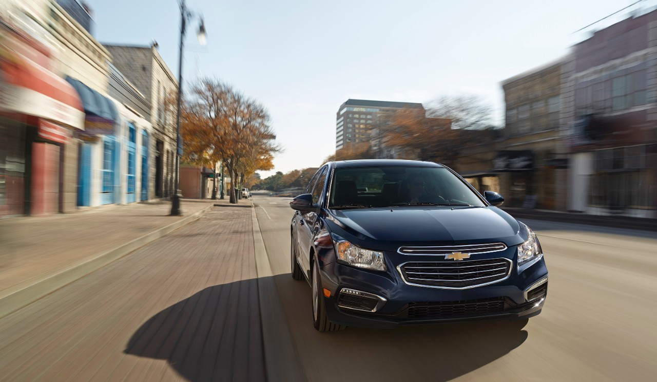 New 2015 Chevrolet Cruze facelift