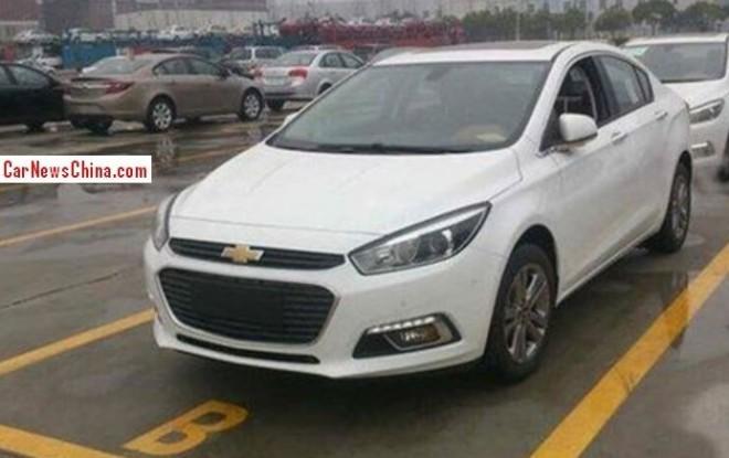 New 2015 Chevrolet Cruze sedan