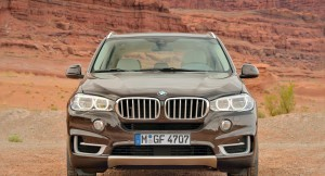 New 2015 BMW X5 front profile