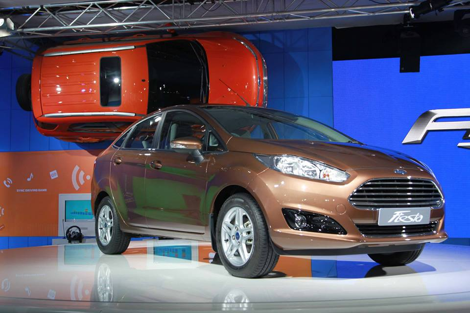 New 2015 Ford Fiesta facelift