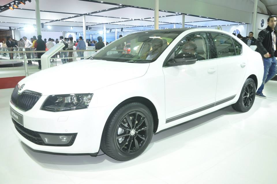 New Skoda Octavia sedan