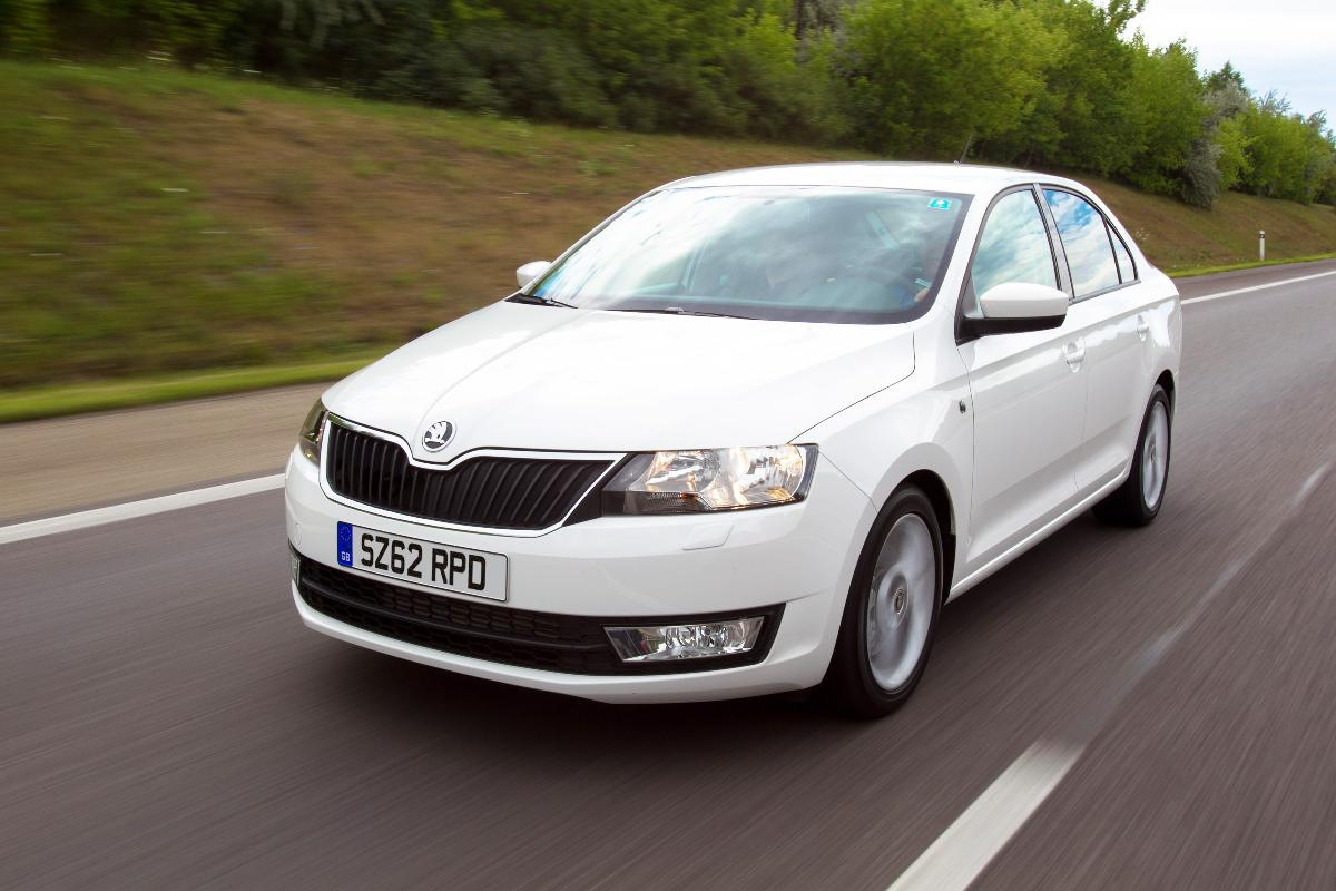 skoda rapid facelift to get new diesel engine automatic. Black Bedroom Furniture Sets. Home Design Ideas