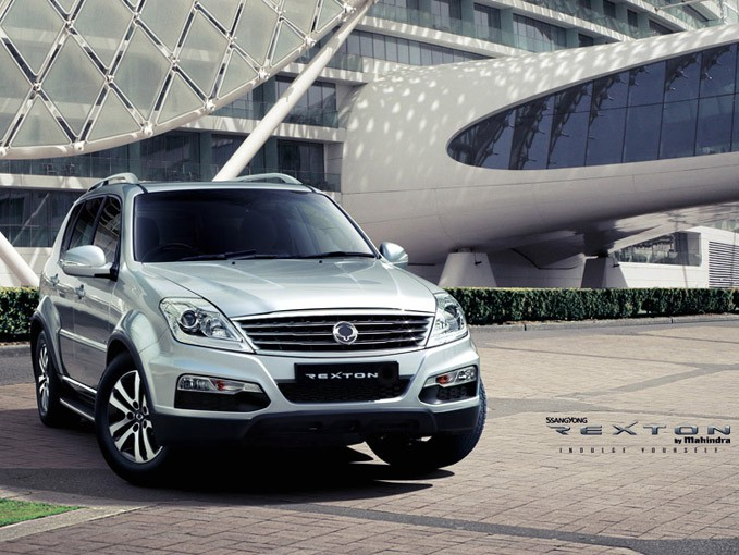 Ssangyong Rexton RX6 SUV