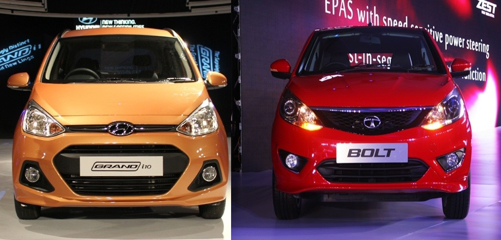 Tata Bolt Vs Hyundai Grand i10