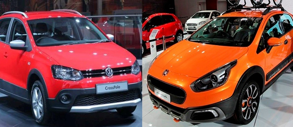 Volkswagen Cross Polo Vs Fiat Avventura