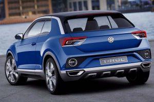 Volkswagen T ROC SUV rear