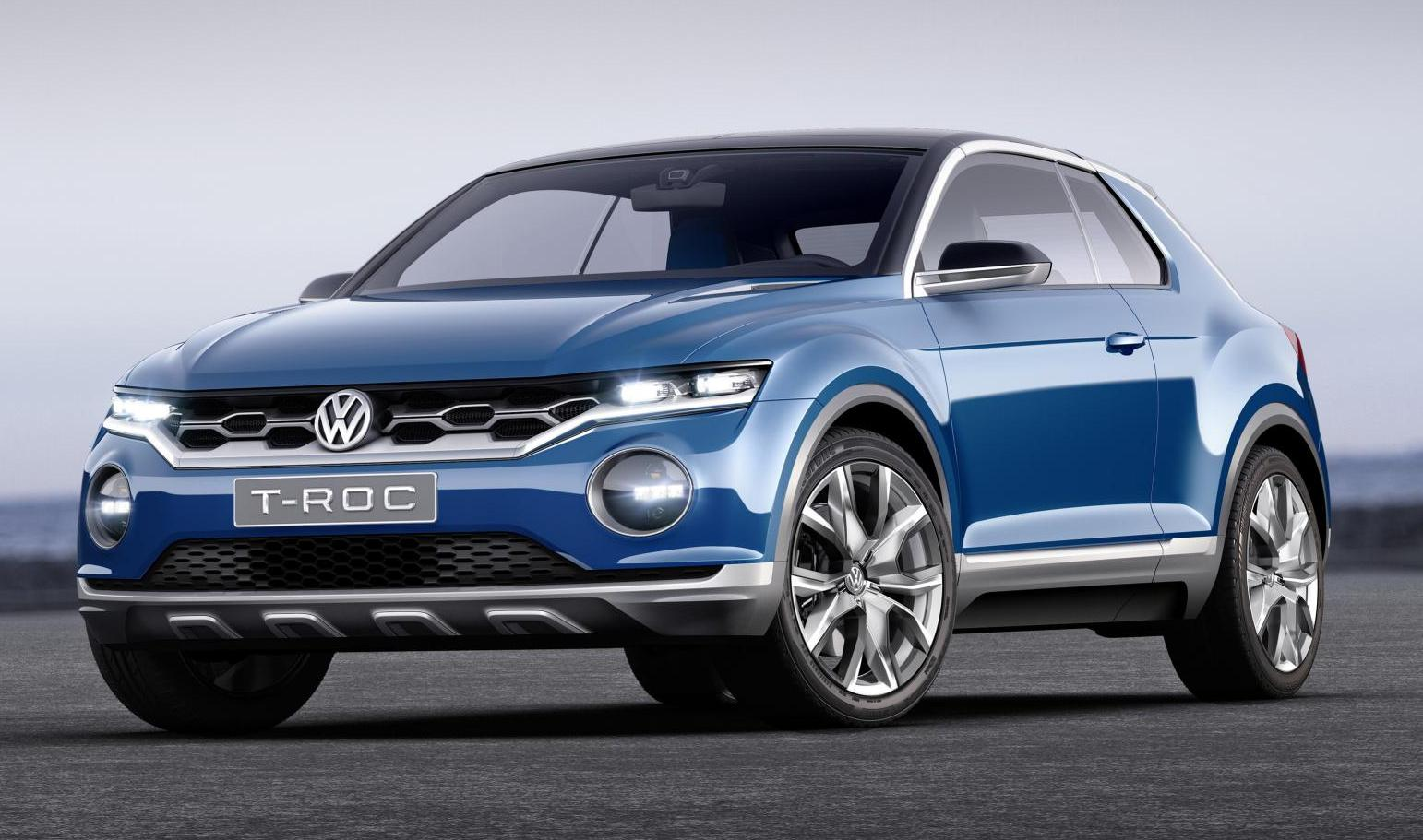 volkswagen t roc suv price specs photos launch date. Black Bedroom Furniture Sets. Home Design Ideas