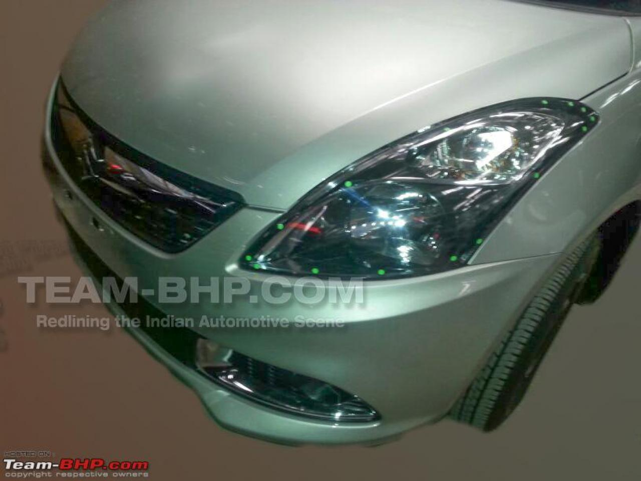 Clear pictures of 2014 Maruti Swift Dzire facelift
