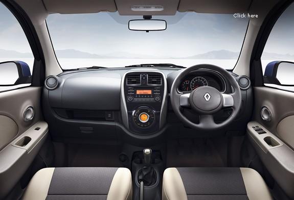 2014 Renault Pulse interior