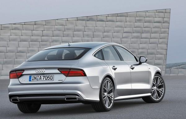 2015 Audi A7 Sportback rear