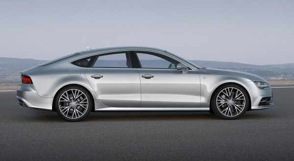 2015 Audi A7 Sportback side profile