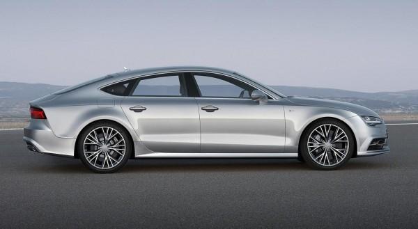 2015 Audi A7 Sportback side profile