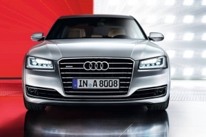 Audi A8L facelift picture gallery