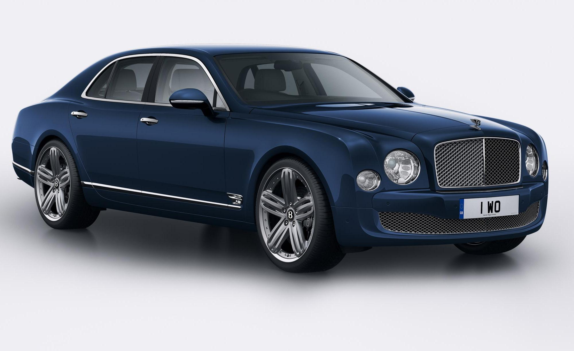 Bentley Mulsanne 95 exclusive edition