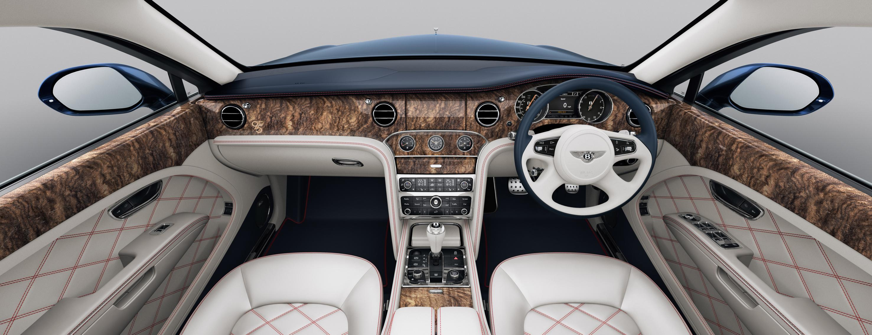 bentley mulsanne 95 exclusive edition launched uk india car news. Black Bedroom Furniture Sets. Home Design Ideas
