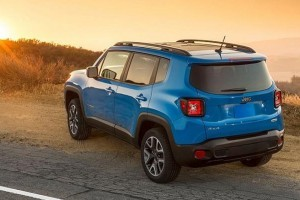 Jeep Renegade rear side