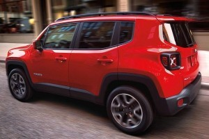 Jeep Renegade India side profile