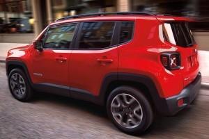 Jeep Renegade India side profile