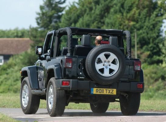 Jeep Wrangler rear