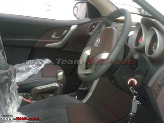 Mahindra XUV500 Limited Edition interiors