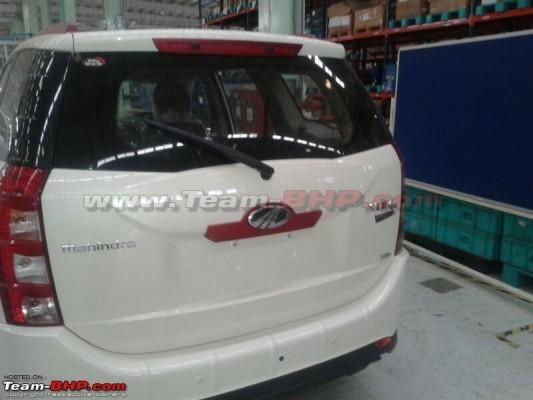 Mahindra XUV500 Limited Edition rear