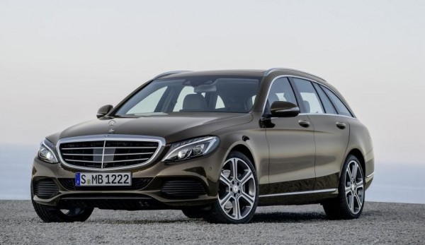 New 2015 Mercedes-Benz C-Class Estate front