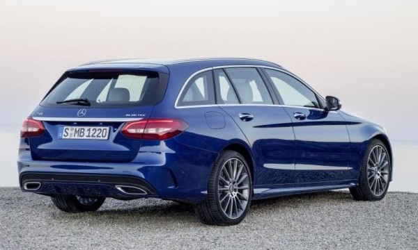 New 2015 Mercedes-Benz C-Class Estate rear