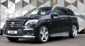 Mercedes-Benz ML63 AMG 2