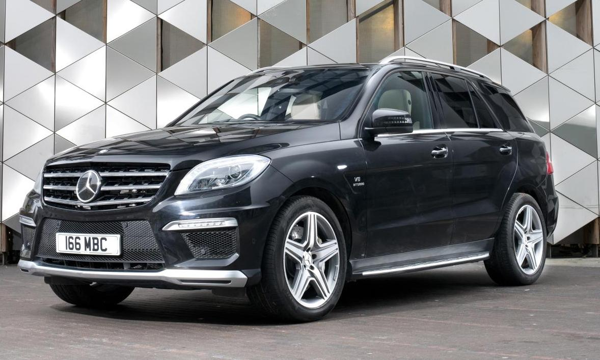 Mercedes Benz Ml63 Amg India Launch On May 15 Pictures
