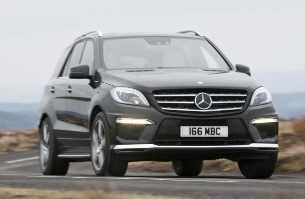 Mercedes-Benz ML63 AMG 4