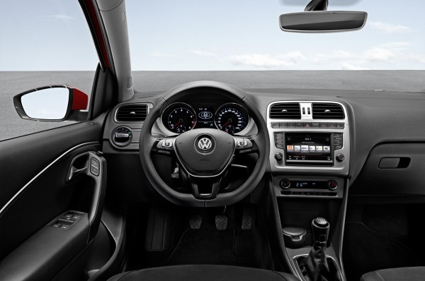 New Volkswagen Polo interior
