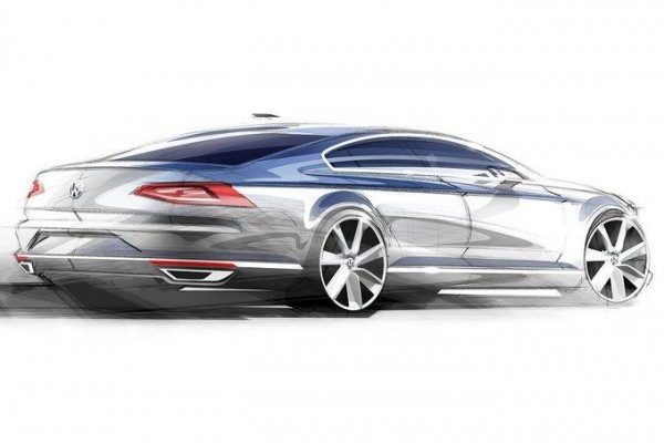 New Volkswagen passat rear