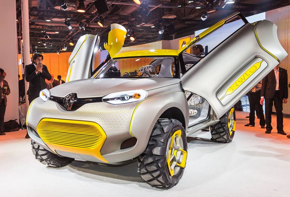Renault Kwid Concept crossover