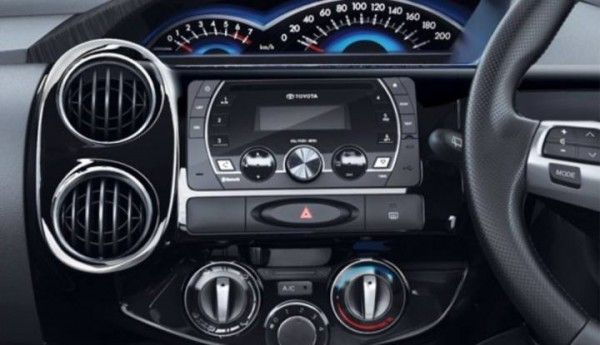 Toyota Etios Cross music