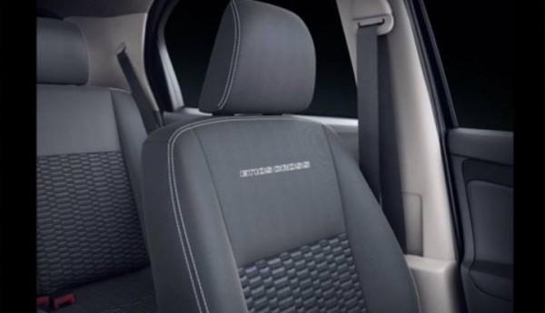 Toyota Etios Cross seats