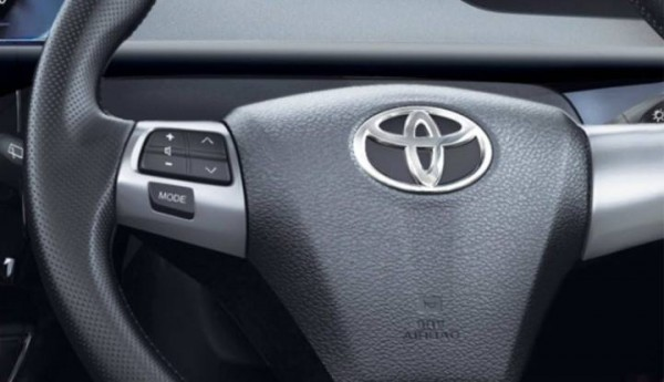 Toyota Etios Cross steering wheel