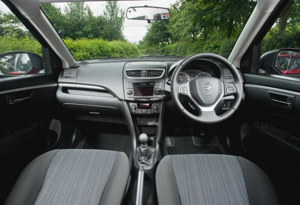 2014 Maruti Swift facelift interiors